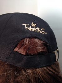 "Cap ""Der Todesking"" (black with golden logo)"