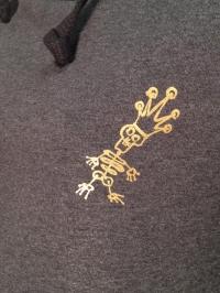 """Sweater """"25 Jahre Todesking"""" mit Kapuze (Größe S)"""