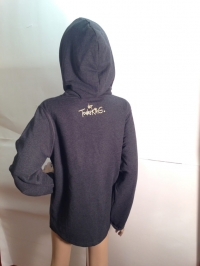"""Sweater """"25 Jahre Todesking"""" mit Kapuze (Größe XL)"""