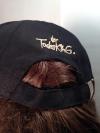 """Cap """"Der Todesking"""" (schwarz mit goldfarbenem Logo)"""